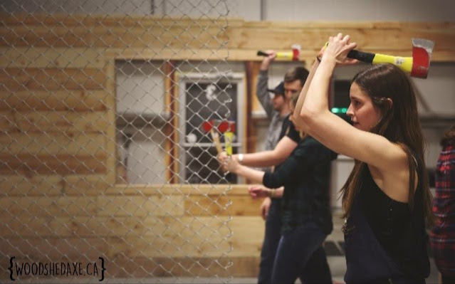 The Wood Shed – Axe Throwing
