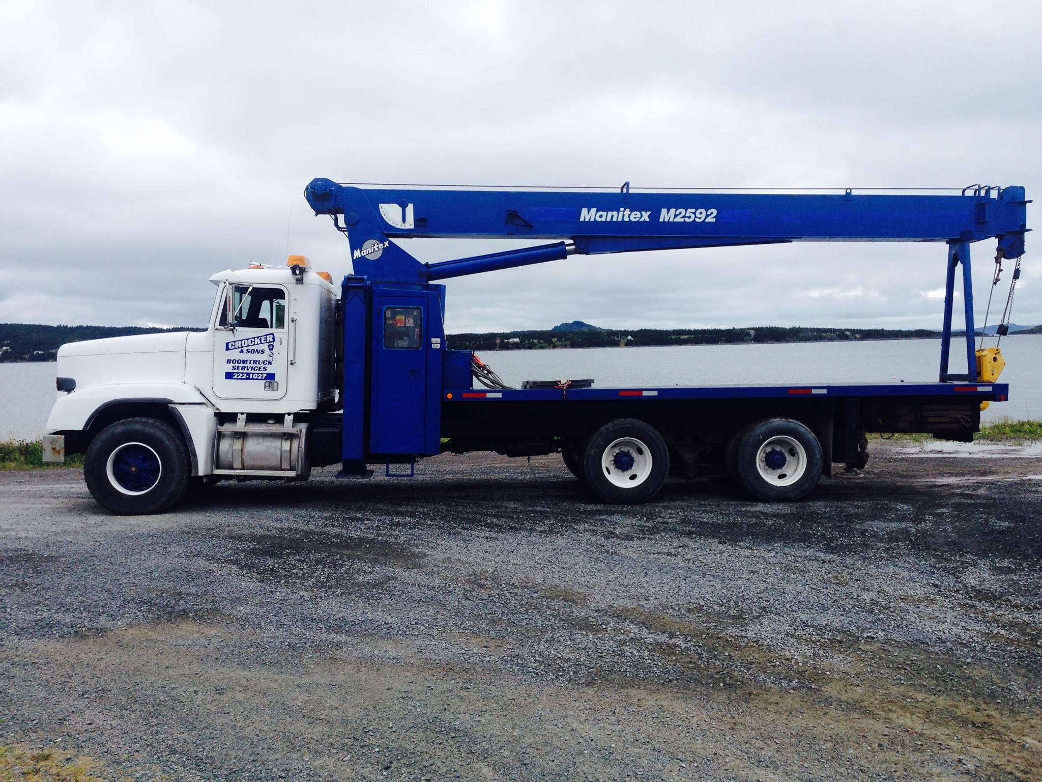 Crocker & Sons Boom Truck Services