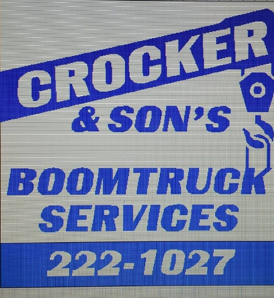 Crocker & Sons Boom Truck Services